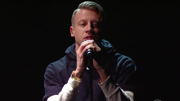 Macklemore Cedes The Spotlight To Black Poets During 'White Privilege II' Performance