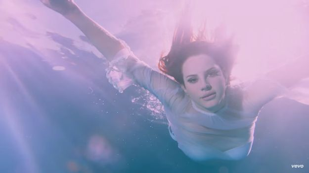 Lana Del Rey's Druggy 'Freak' Video Is The Beach Party Of Your Dreams