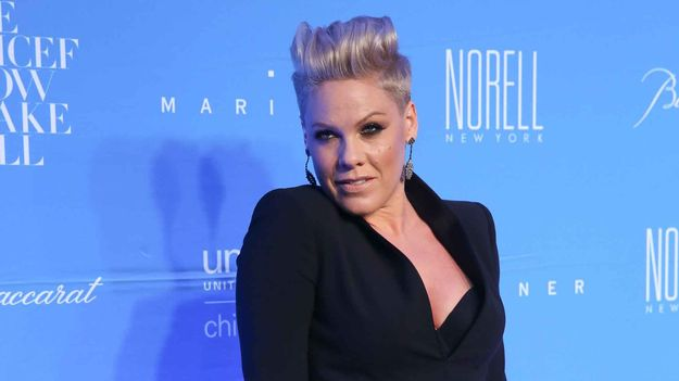 Pink Is Rocking A Super Goth Crown Of Thorns In This 'Fire' Teaser