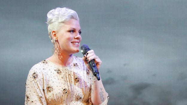 Pink Is On 'Fire' With Her 'Alice Through The Looking Glass' Single