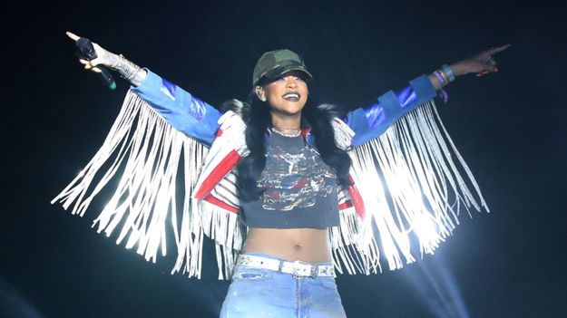 Rihanna Reunited With Calvin Harris For 'We Found Love' At Coachella