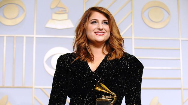 Meghan Trainor Woke Up To The Worst Possible Text The Morning After Winning A Grammy