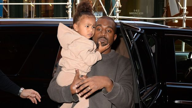 North West Flushed Kanye's iPhone — And His Early Life Of Pablo Raps — Down The Toilet