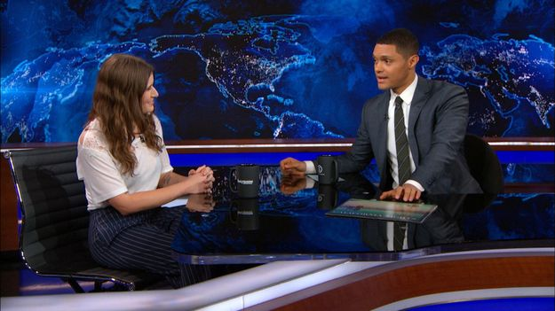 Bethany Cosentino Kicked Much Ass On The Daily Show