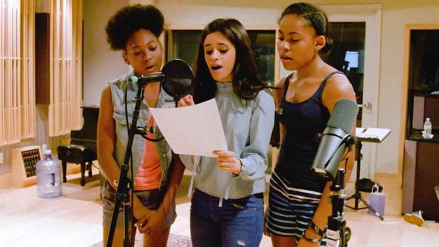 Watch Camila Cabello And Benny Blanco Record A Song Using No Instruments