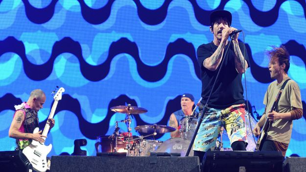 Red Hot Chili Peppers Ride The Longest Wave Of All