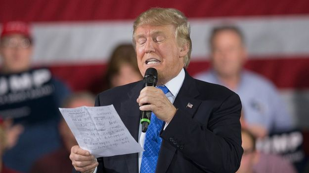 The Donald Trump Guide To Stalling On Your Policy Proposals