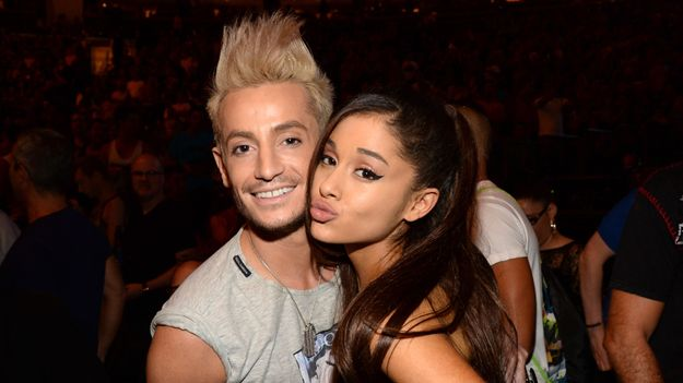 Ariana Grande Celebrates Bro Frankie's Birthday With Adorable '90s Throwback Pics