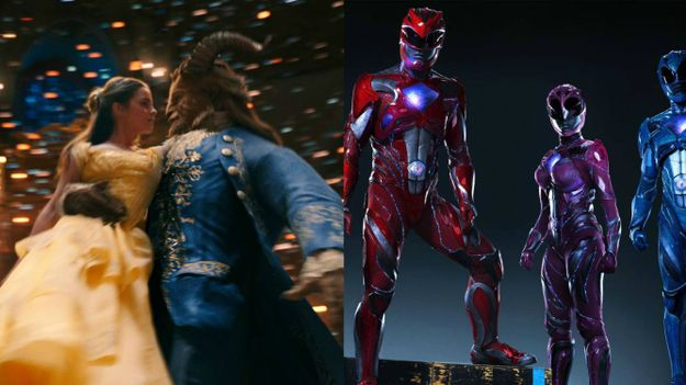 Beauty and the Beast Kicked Power Rangers Butt At The Box Office
