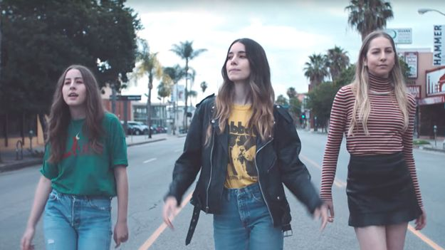 Haim Dance Like Your Parents In 'Want You Back' Music Video