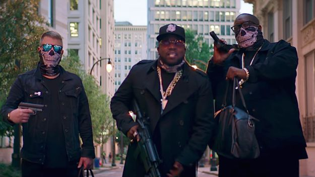 Run The Jewels And Big Boi Are Legit Action Stars In Their 'Chase Me' Video