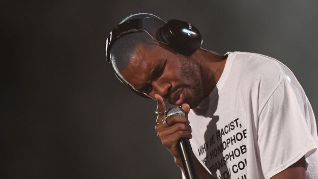 Watch Frank Ocean Turn The Stage To Ice With A String Section