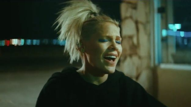 P!nk Dances Away The Pain In Mesmerizing New Music Video