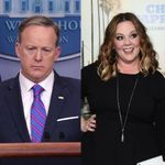 Stephen Colbert Shocked Melissa McCarthy (And Everyone Else) With Sean Spicer's Emmy Cameo ...