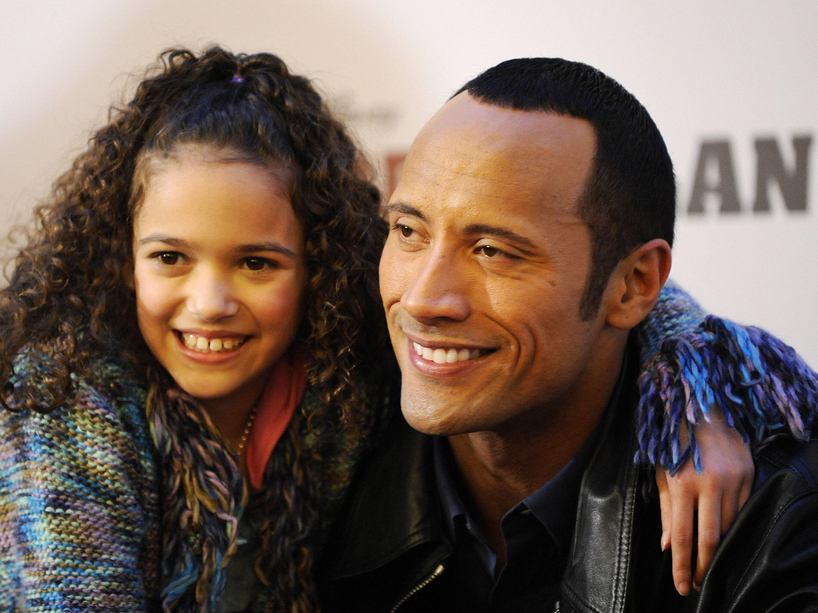 Madison Pettis And The Rock