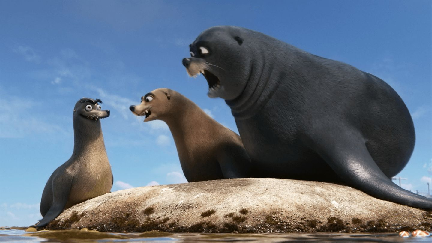 The Real Star Of Finding Dory Is Gerald The Sea Lion ...