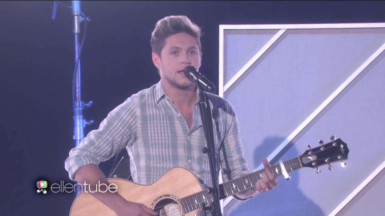 Niall Horan Played 'This Town' For His Twin, Ellen DeGeneres