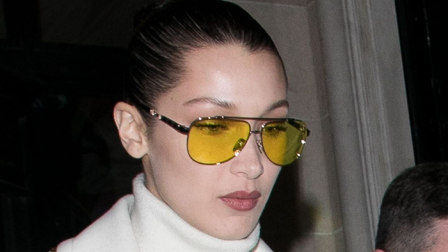 Kylie Jenner and Bella Hadid Show Us How To Wear This Season's Most Confusing Sunglasses