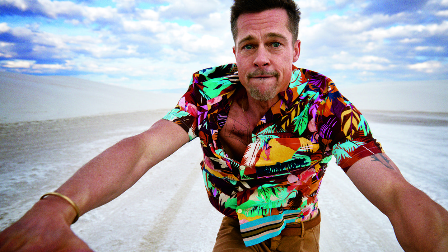 Meet The Stylist Behind Those Iconic, Vulnerable Brad Pitt Pictures