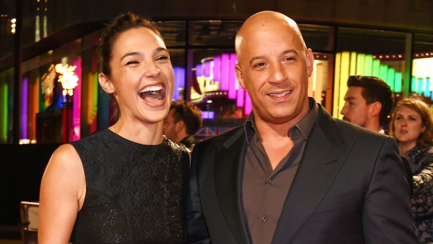 Full Force Diesel >> Gal Gadot And Vin Diesel Had A Play Date With Their Tiny ...
