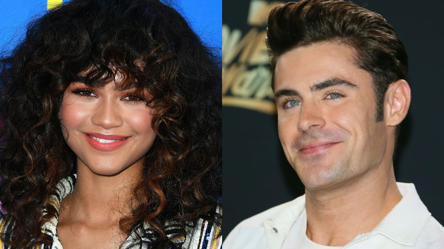Zac Efron Wishes 'Goofball' Zendaya A Happy Birthday With A Silly Pic