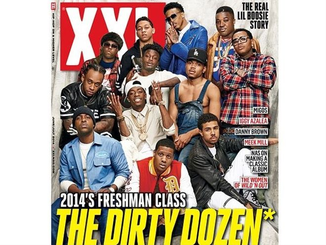 Why's Chance The Rapper Dressed As 'Chance The Farmer' On ... Xxl Magazine 2014 Freshman