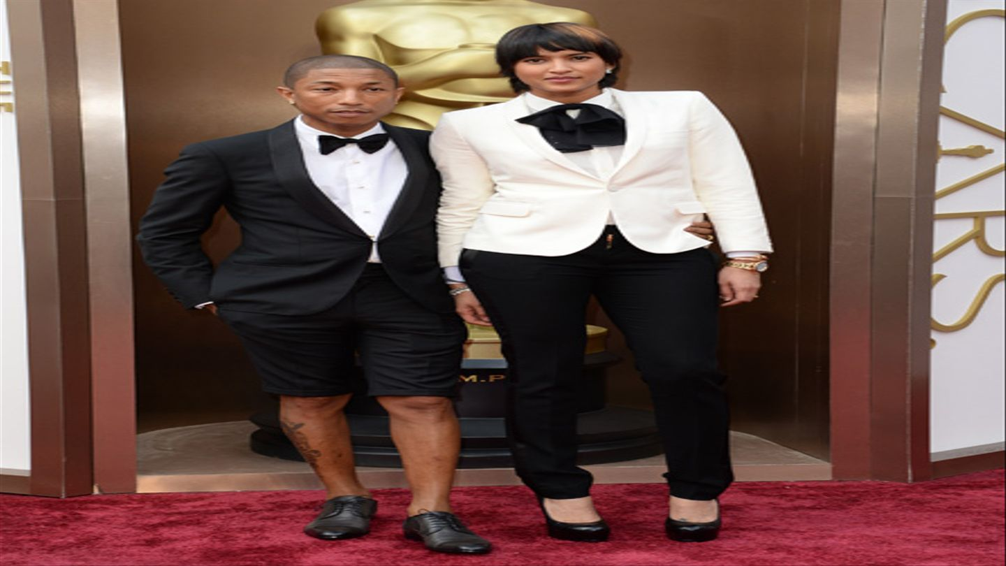 Pharrell Opted For Shorts At The 2014 Oscars - MTV