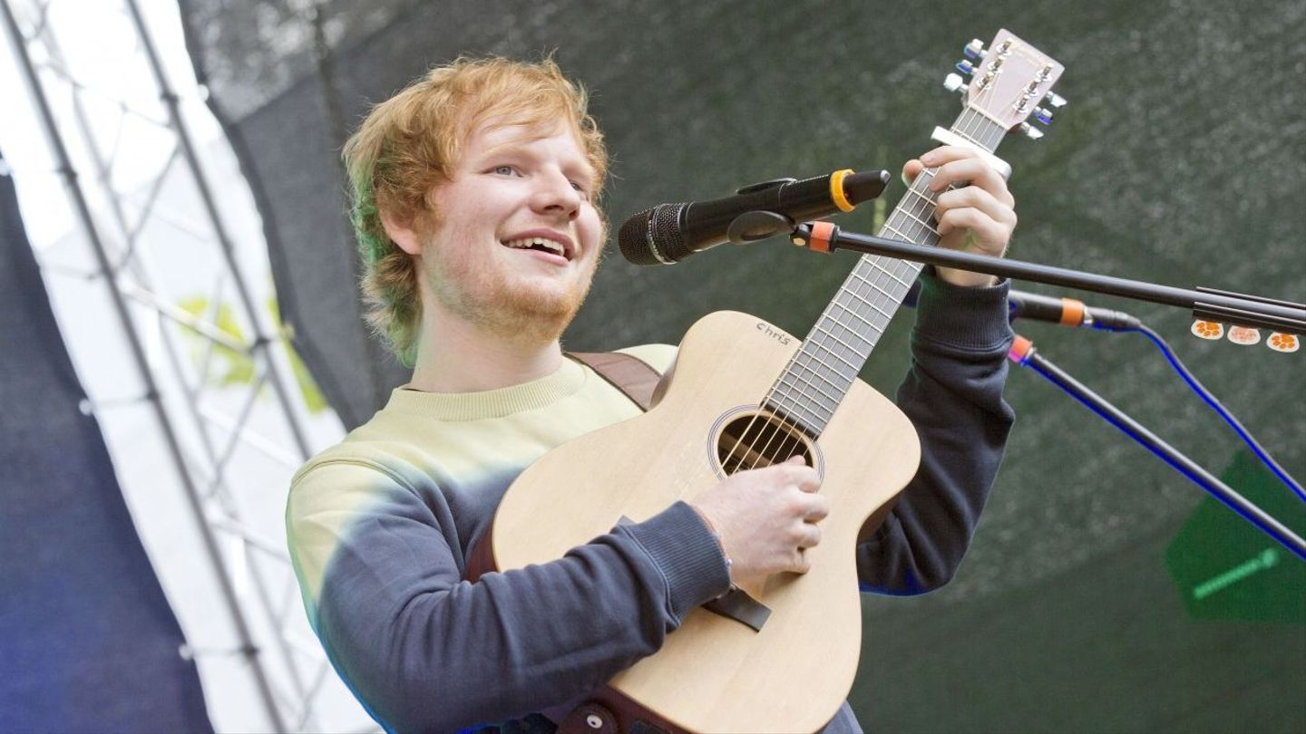Ed Sheeran Never Said He Was Homeless Mtv