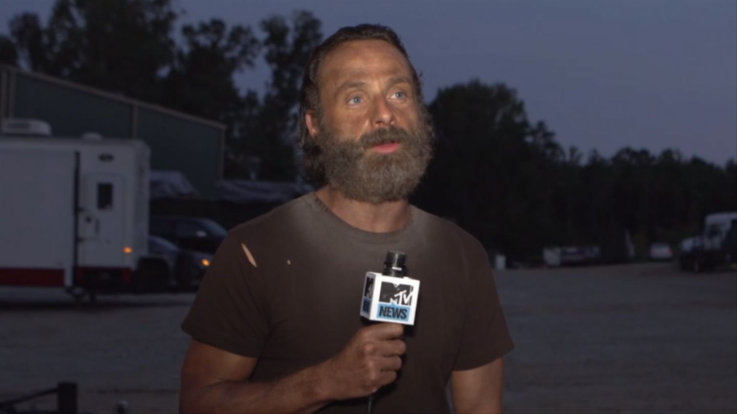 'The Walking Dead' Star Andrew Lincoln Says Season Five Is 'All About The Beard' - MTV