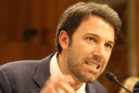 US Actor and The Eastern Congo Initiative Founder Ben Affleck