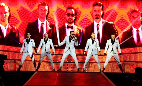 Backstreet Boys And All Saints Perform At O2 Arena In London