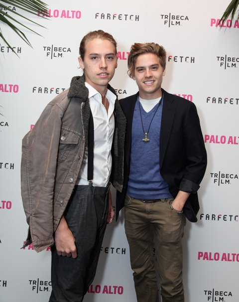 Dylan and Cole Sprouse 2014