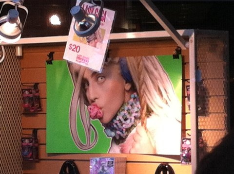 Lady Gaga's artRave: The ARTPOP Ball Tour merch
