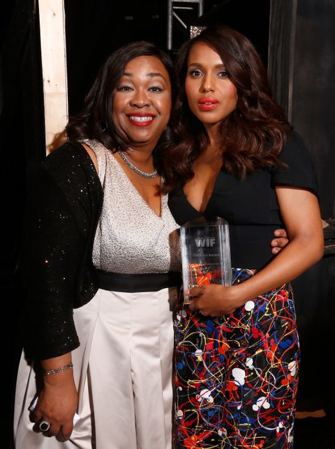 Women In Film 2014 Crystal + Lucy Awards Presented By MaxMara, BMW, Perrier-Jouet And South Coast Plaza - Backstage And Audience