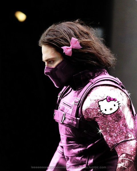 The Winter Soldier Hello Kitty