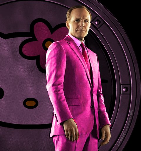 Agent Coulson Hello Kitty