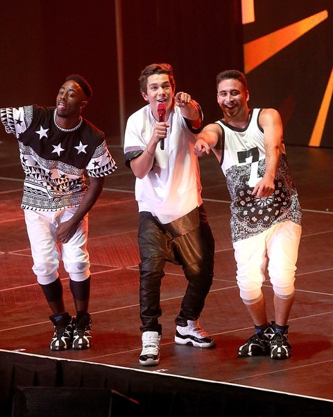 Austin Mahone Tour Opener At The Freeman Coliseum