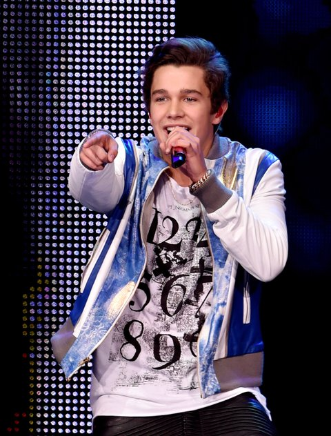 Austin Mahone With The Vamps And Special Guests Fifth Harmony And Shawn Mendes Perform At The Nokia Theatre L.A. Live