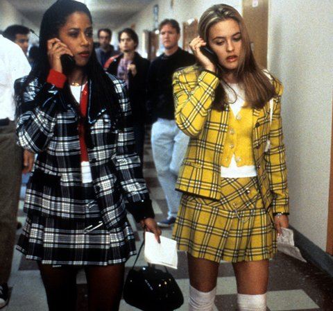 Clueless, plaid
