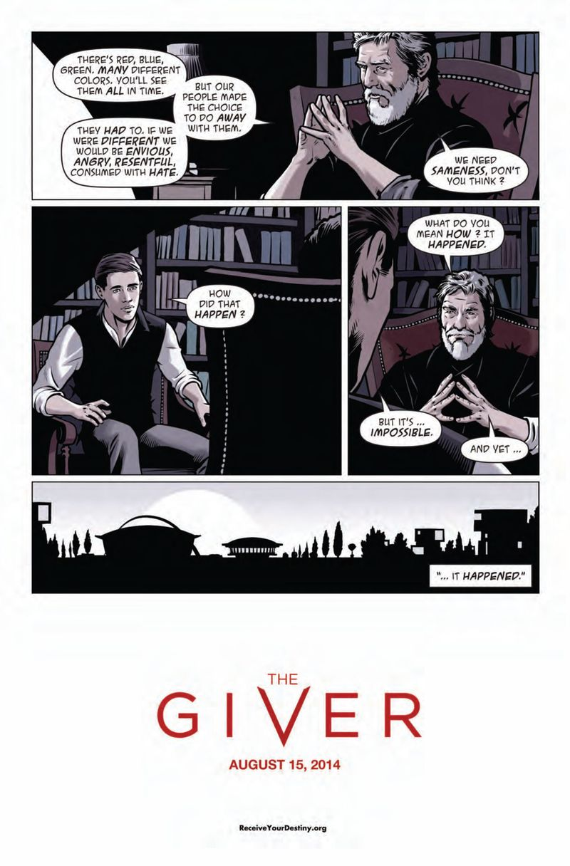 Anyone read the giver?