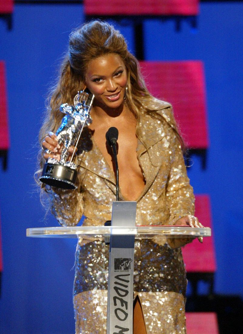 Every Single Outfit Beyonc 233 S Ever Worn To The Vmas Ever