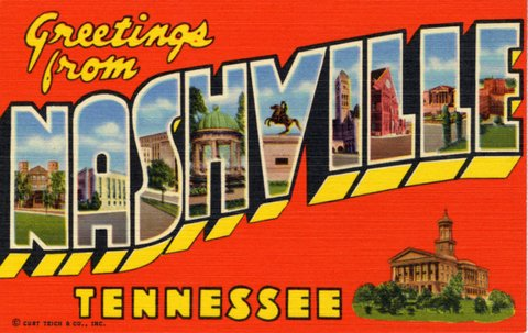 Greetings From Nashville, Tennessee