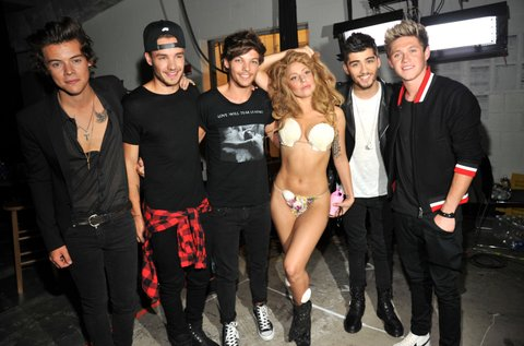 2013 MTV Video Music Awards - Backstage