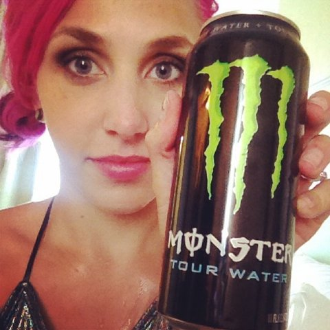 monster tour water