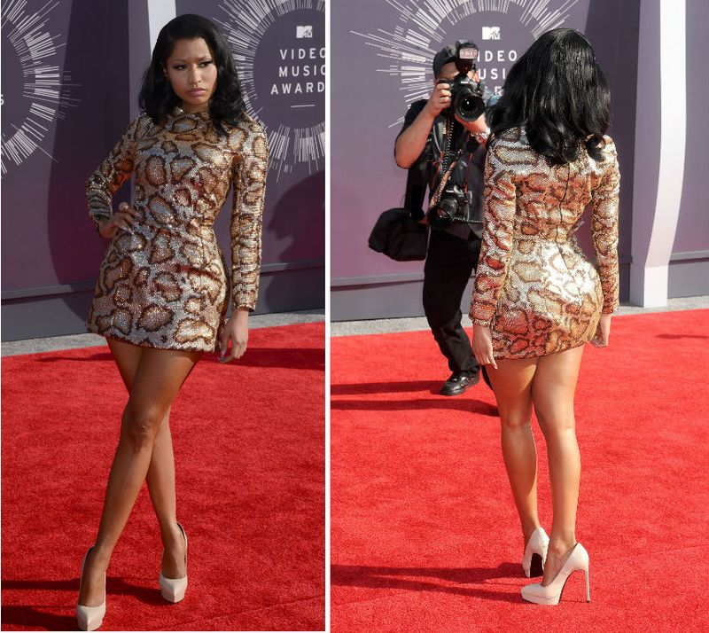 See All 5 Of Nicki Minaj 39 S Vma Outfits Mtv