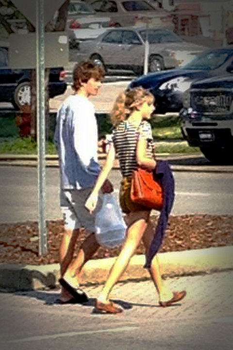 Taylor Swift and rumored boyfriend Conor Kennedy in Nashville together