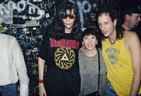 Photo of Joey RAMONE and RAMONES