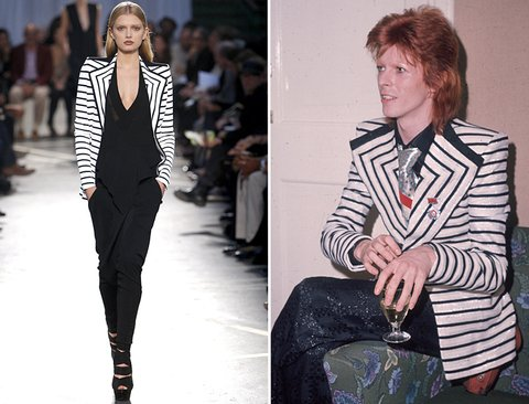 David Bowie & Givenchy