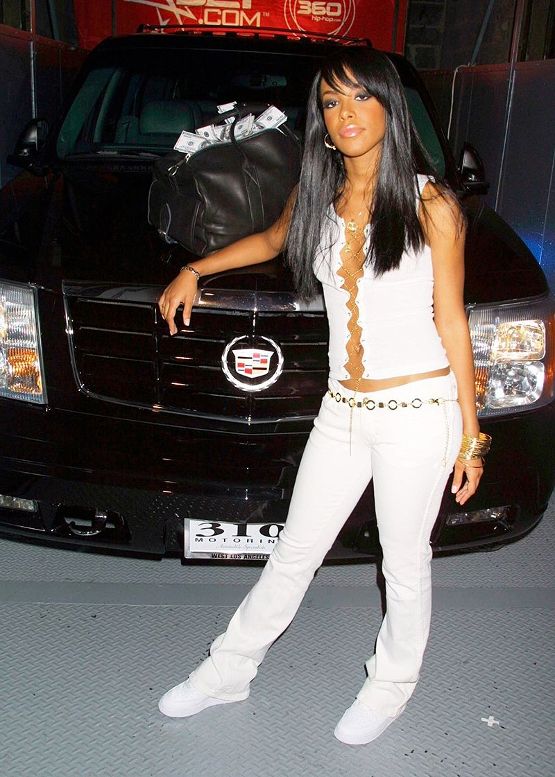 did the aaliyah biopic at least get the fashion right mtv