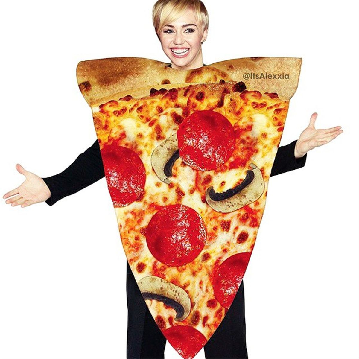 miley pizza